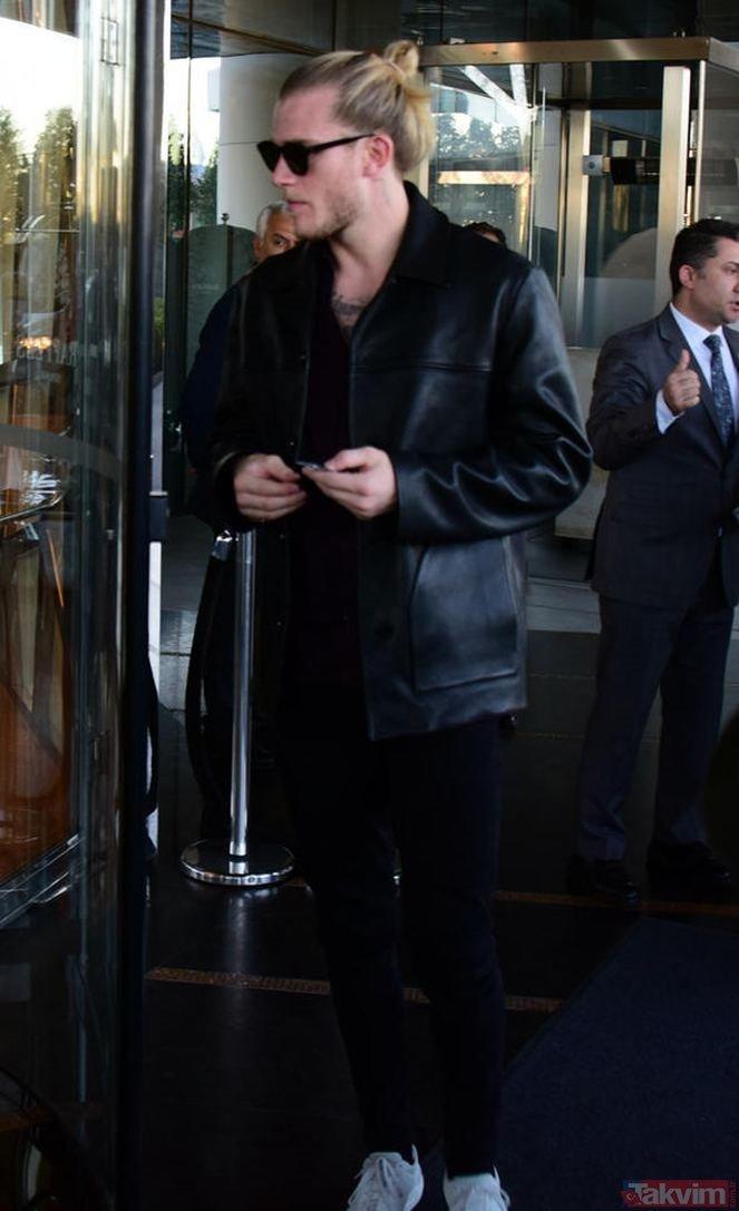 Beşiktaş'ın yıldızı Loris Karius, Alman model ile otele girerken yakalandı!