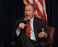 Vay Bush vay! Üzüntü duyuyormuş
