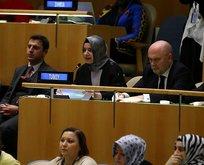 Bakan Kaya Hollanda faşizmini BM'de anlattı