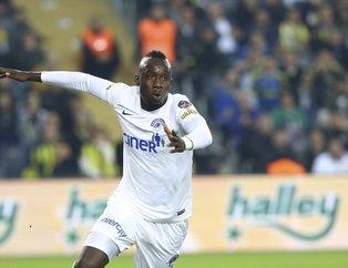 Mbaye Diagne Galatasaray formasını giydi