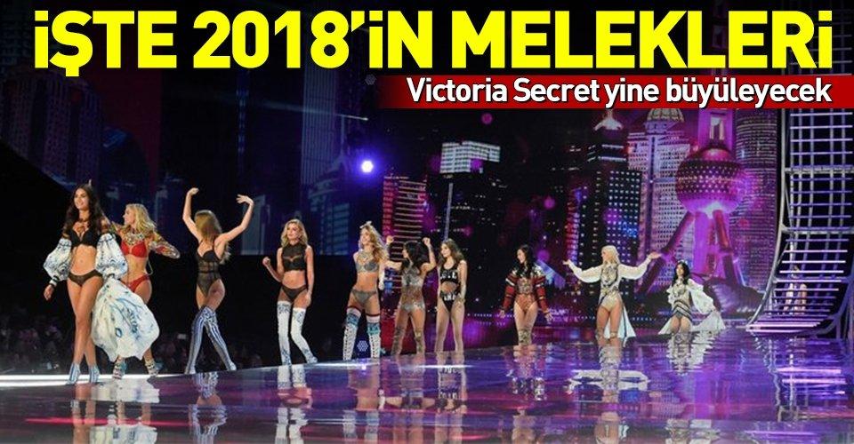 İşte Victoria Secretin 2018 yılı melekleri