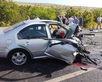 Malatya'da feci kaza! Ölü ve yaralılar var