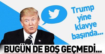 Trump Twitter'dan esti gürledi! Bakın hedefinde kimler var...