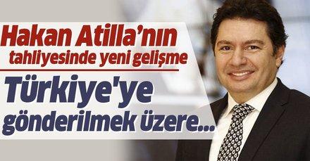 Hakan Atilla Türkiye'ye gönderilmek üzere ABD göçmen bürosuna teslim edildi