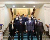 Bakan Gül'den dikkat çeken reform görüşmesi