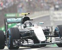 Rosberg kazanırsa şampiyon olacak
