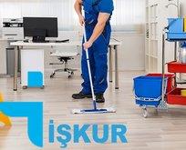 İŞKUR 11 Kasım temizlik personeli alımı başvuru şartları
