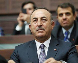 Bakan Çavuşoğlu'ndan Mazlum Kobani açıklaması