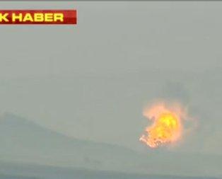 Türk savaş uçakları terör noktalarını vuruyor!