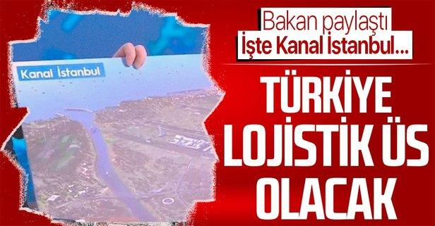 İşte Kanal İstanbul'un görüntüsü