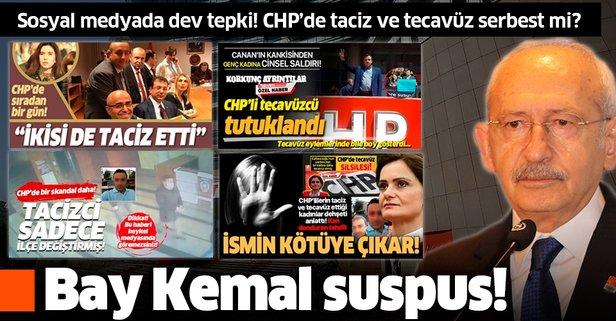 CHP yönetiminin sessizliği utanç verici