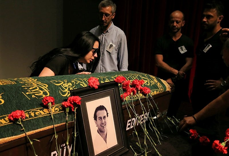 Arda Öziri için cenaze töreni düzenlendi
