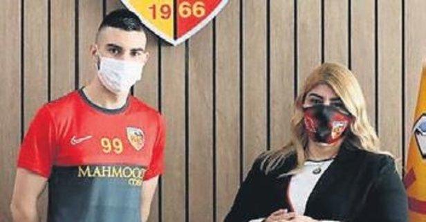 Kayserispor'un yeni forveti Maglica oldu