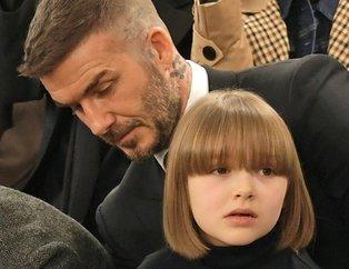 David Bechkam'ın kızı rekorlar listesinde! İngiltere'nin en güçlü ismi Harper oldu...