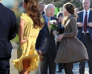 Kate Middletonın başı çok fena dertte!