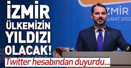 Bakan Albayrak: İzmir'i ülkemizin yıldızı haline getireceğiz