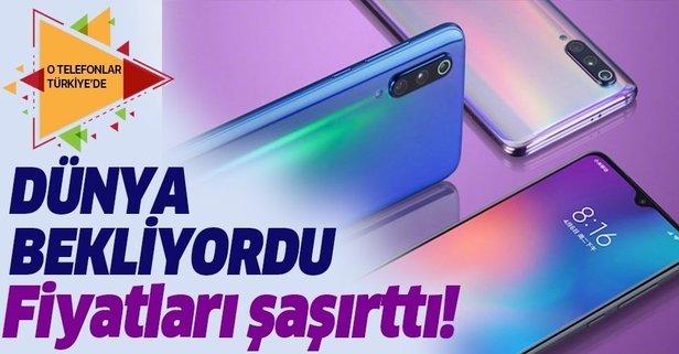 O telefonlar Türkiye'de! Fiyatları şaşırttı