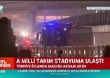 A Milli Takım Türk Telekom Stadyumu'na ulaştı