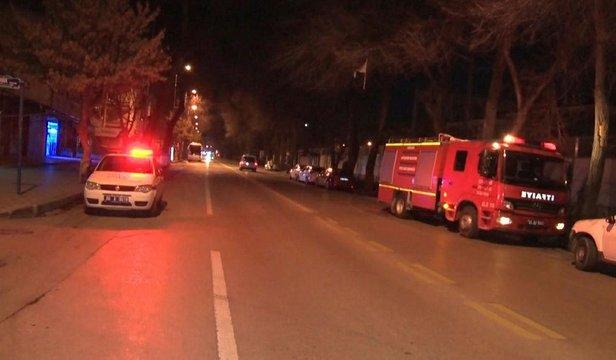 Son Dakika Ankarada Yakıt Taşıyan Yük Treninin Vagonları Raydan çıktı