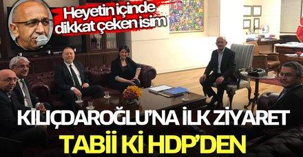 HDP'den Kemal Kılıçdaroğlu'na geçmiş olsun ziyareti