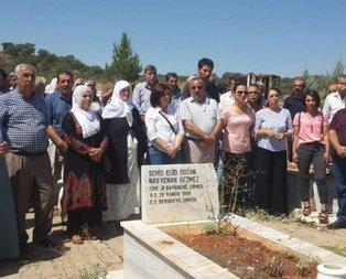 HDPli vekil PKKlı teröristin mezarını ziyaret etti!
