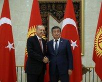 Ceenbekov'dan Erdoğan'a tebrik telefonu