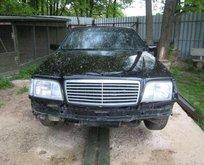 Hurda Mercedes'ten canavar yaptı!