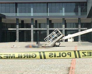 Bursa'da korkunç olay! Vinç devrildi ölüler var