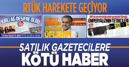 RTÜK fondaş medyaya karşı harekete geçiyor