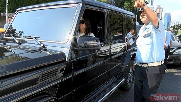 Sibel Can ve oğlu Emir Aksüt Beşiktaş'ta kaza geçirdi