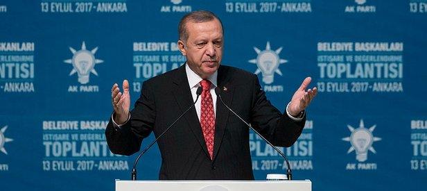 Cumhurbaşkanı Erdoğandan heykel tepkisi