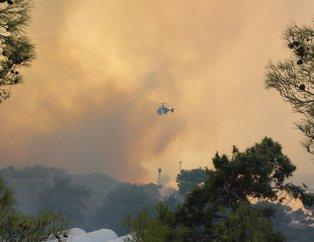 Antalyada alarm! Alevler yayılıyor