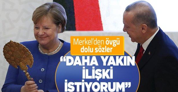 Ankara ile daha yakın ilişki istiyorum