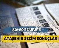 23 Haziran Ataşehir İstanbul seçim sonuçları