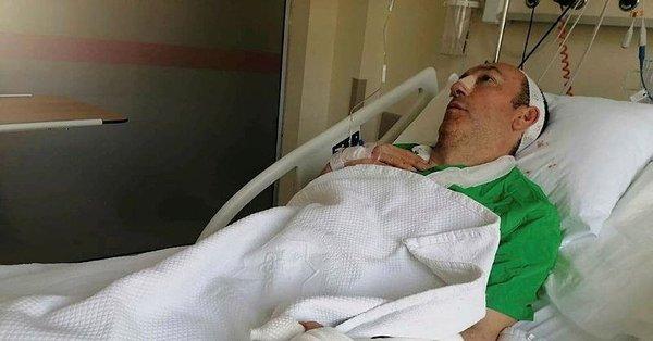 Tokat'ta gürültü yaptığı gerekçesiyle darbedilen profesör yoğun bakıma kaldırıldı