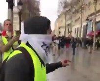 Gezi Parkı vandalları Pariste sahnede!
