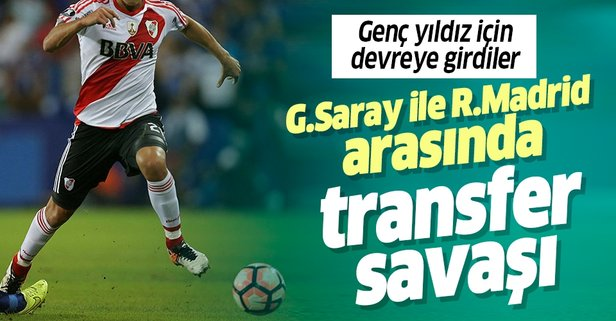 Galatasaray ile Real Madrid arasında transfer savaşı