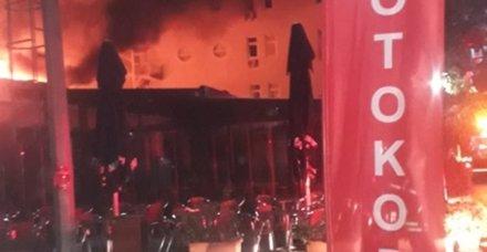 Son dakika: Marmara Üniversitesi'nde yangın
