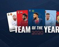 UEFA Yılın 11'i belli oldu! O isim 15. kez seçildi!