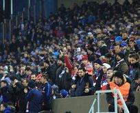 Trabzon'da derbi bereketi