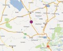 Bir deprem de Aksaray'da!