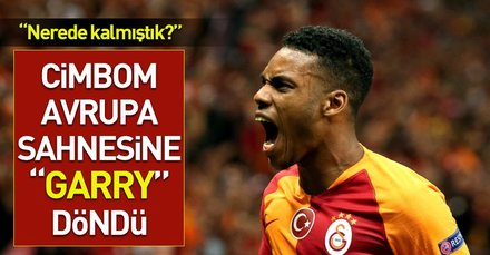 Cimbom Avrupa sahnesine Garry döndü! (MS: Galatasaray 3-0 Lokomotiv Moskova)
