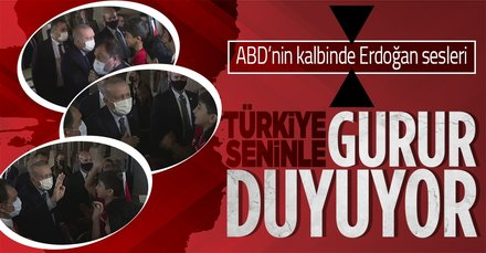 Başkan Erdoğan'a New York'ta sevgi gösterisi