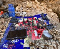 PKK'ya mühimmat darbesi! Hepsi ele geçirildi