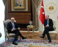 Başkan Erdoğandan önemli kabul!