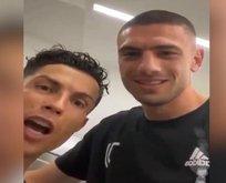 Merih Deniral'dan Ronaldo'ya Türkçe dersi