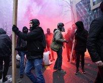 Fransa'da protestocular yeniden sokağa döküldü!