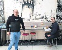 """Zonguldak'ta, """"Genelge beni bağlamaz. Coronavirüs yok"""" diyen dönerci Erkan Cinbir'e, 24'üncü kez ceza yazıldı"""
