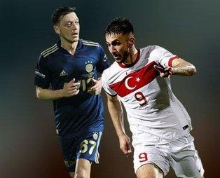 Fenerbahçeli Mesut Özil, EURO 2020 ilk 11'ini yaptı! Dikkat çeken Halil Dervişoğlu detayı...