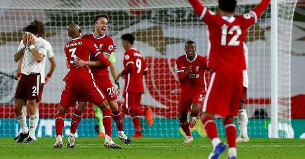 Liverpool Arsenal'i 3 golle geçti